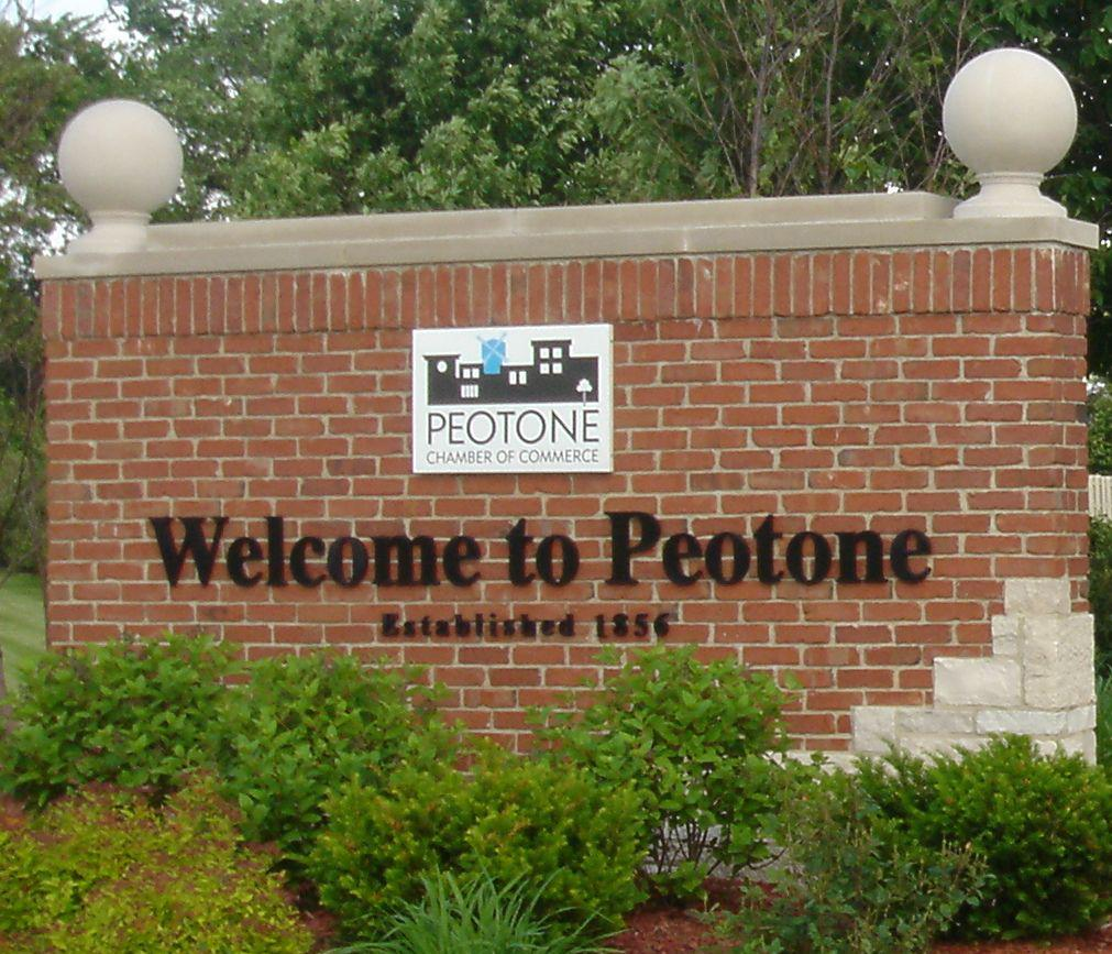 peotone signsmall